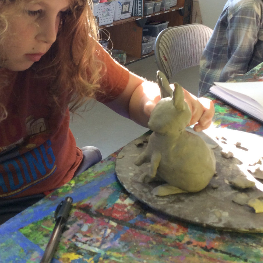 Sculpting Clay Animals (Homeschool Class) - Fall 2017