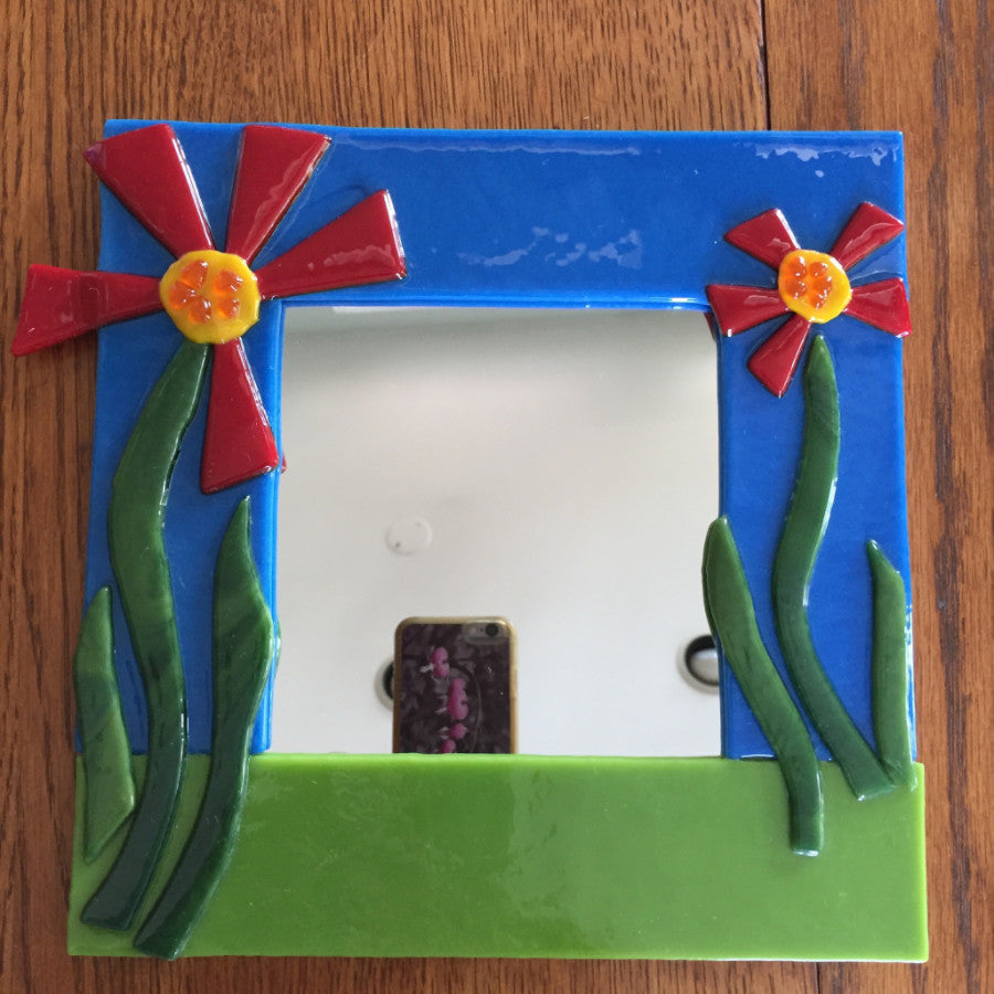 Fused Glass:  I Can See Clearly Now!  Mirror Workshop - Winter 2017