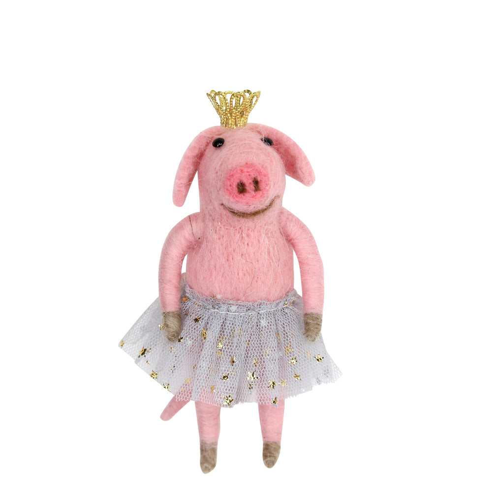 Wool Mix Ballerina Pig