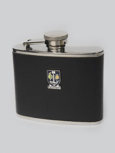 Hip Flask 4oz leather