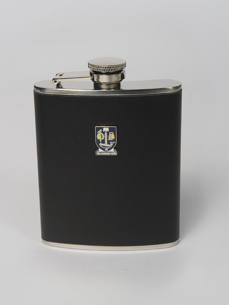 Hip Flask 6oz Leather
