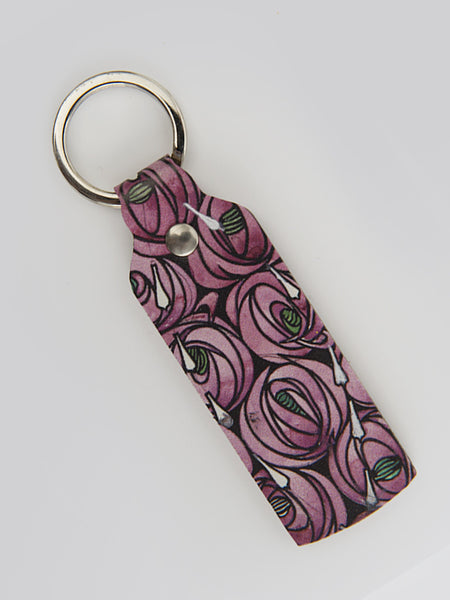 Rose & Teardrop Keyring
