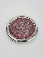 Rose & Teardrop Compact Mirror
