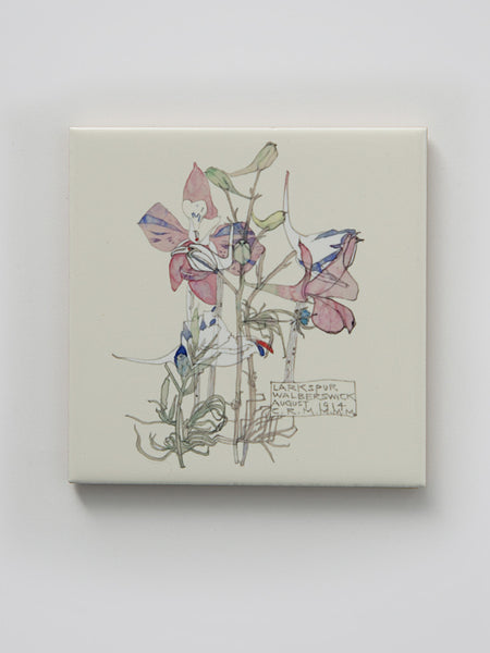 Mackintosh Larkspur Ceramic Coaster