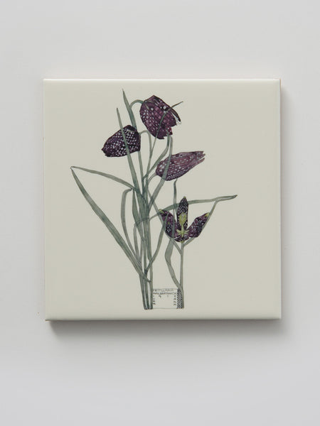 Mackintosh Fritillaria Ceramic Coaster