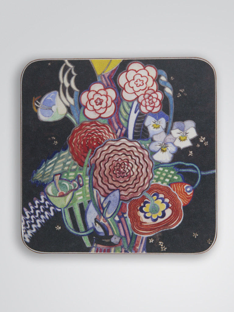 Basket of Flowers Coaster