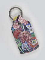 Basket of Flowers Keyring