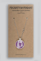 Mackintosh Ceramic Pendant