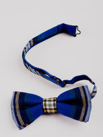 University Tartan Bow Tie - detail