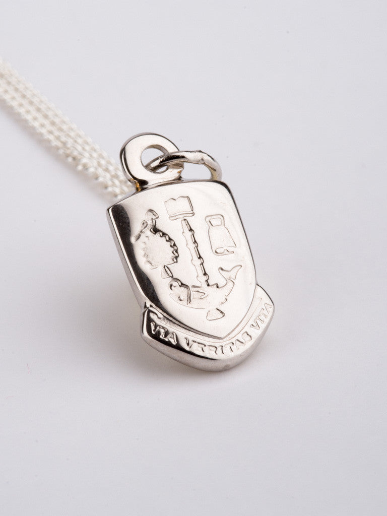 Sterling Silver Shield Pendant