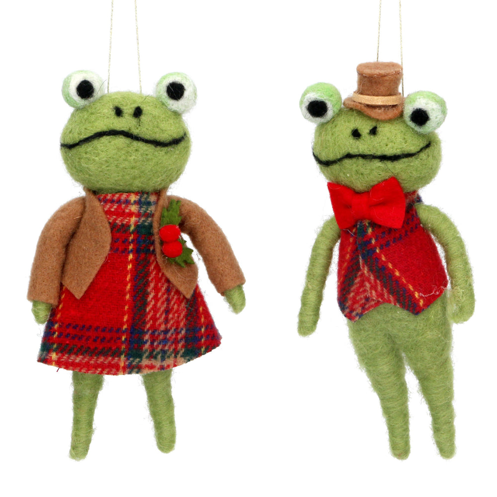 Wool Mix Mr and Mrs Frog