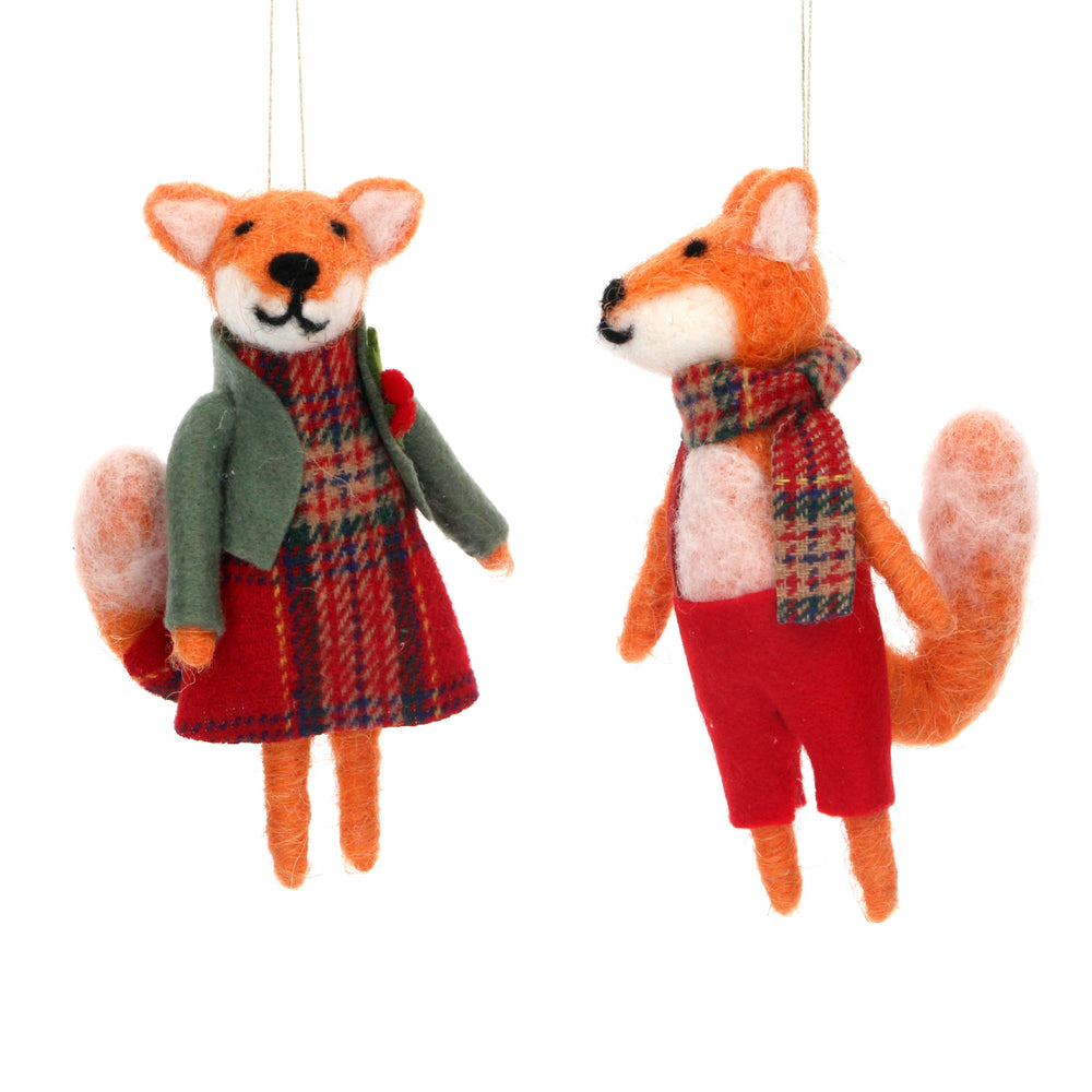 Wool Mix Mr and Mrs Fox