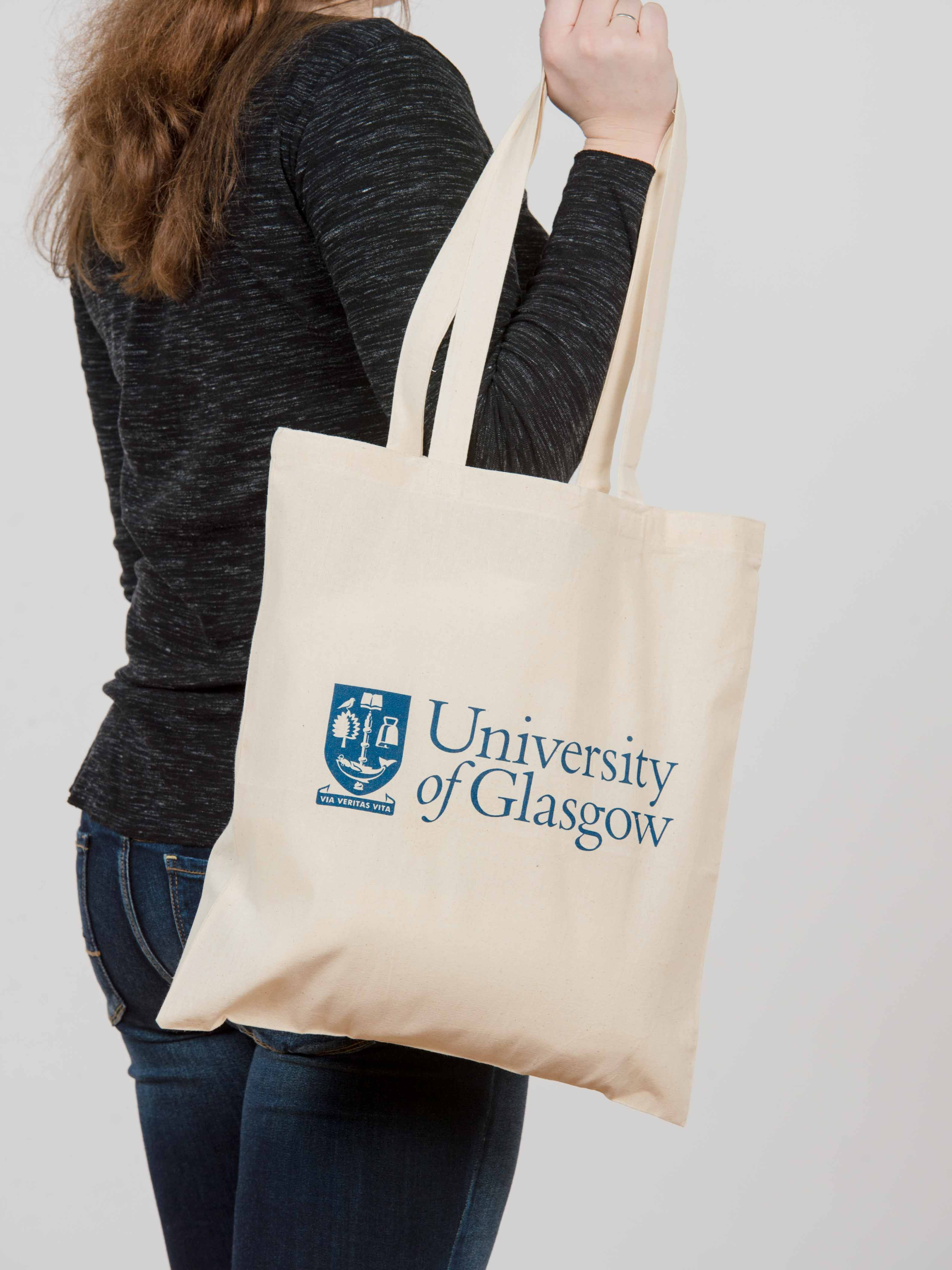 University of Glasgow Tote Bag (Blue Print)