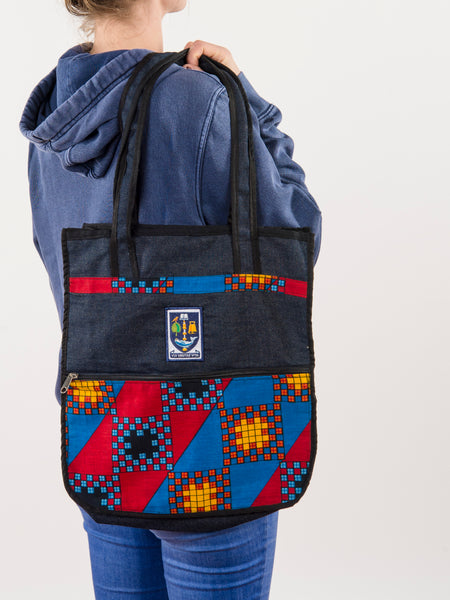 UofG Fairtrade Denim Tote Bag