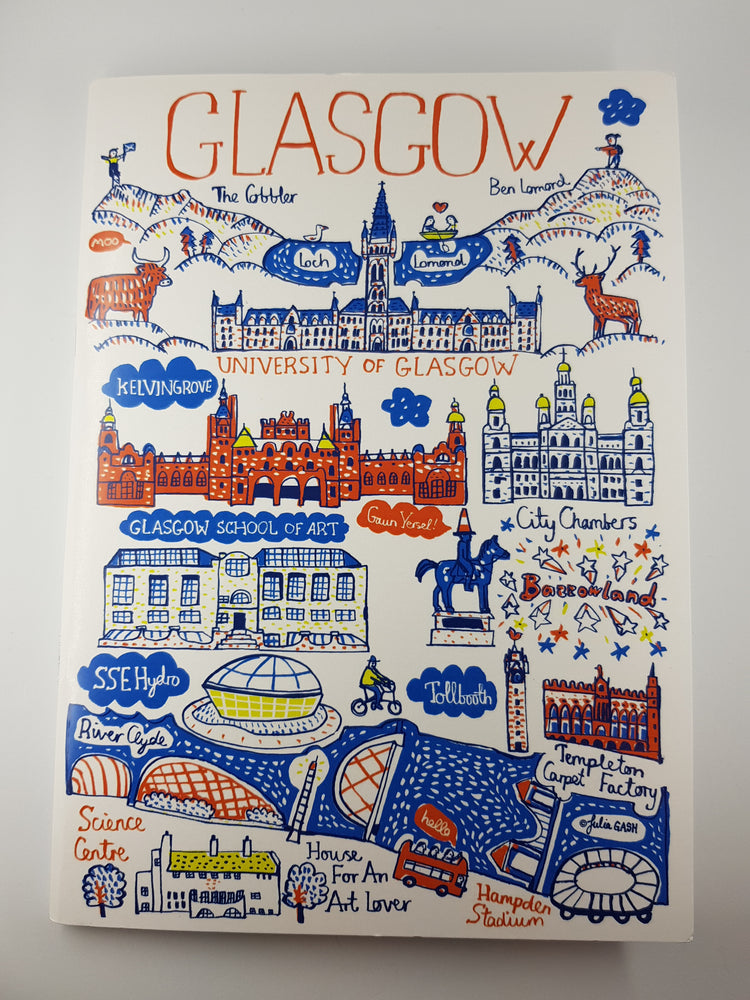 Glasgow Cityscape Notebook