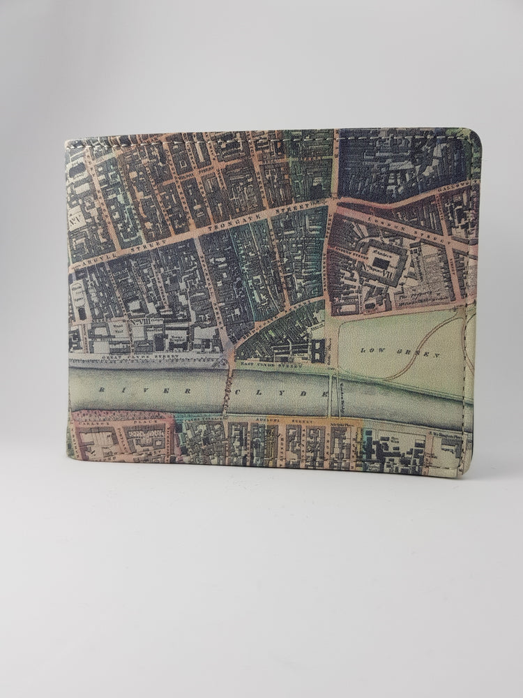 Glasgow Map Wallet