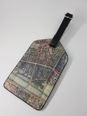 Glasgow Map Luggage Tag