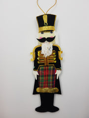 Tartan Nutcracker Decoration