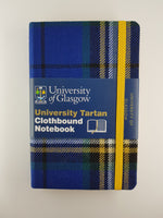 University Tartan A6 Clothbound Notebook