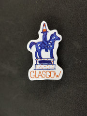 Glasgow Cityscape Brooch