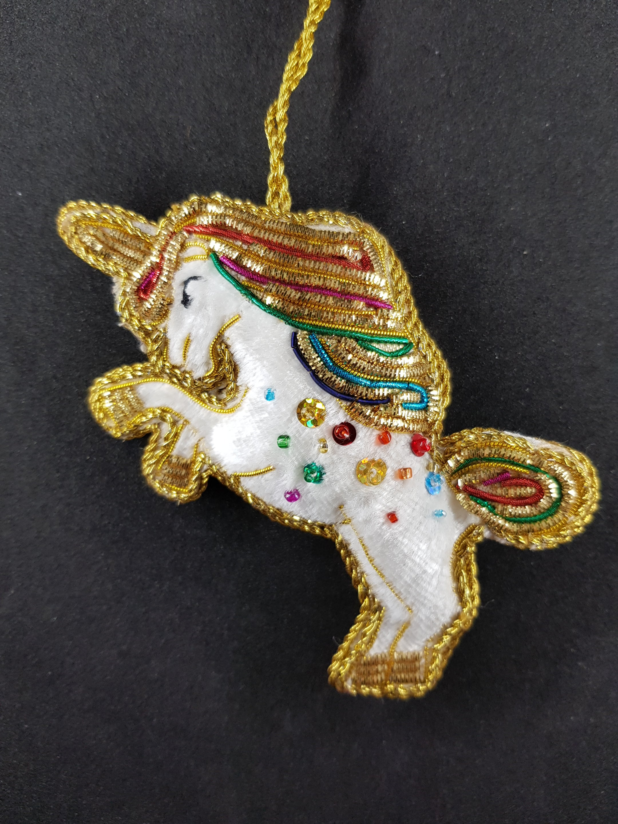 Rainbow Unicorn Decoration