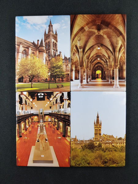 Set of 4 University Photo Magnets