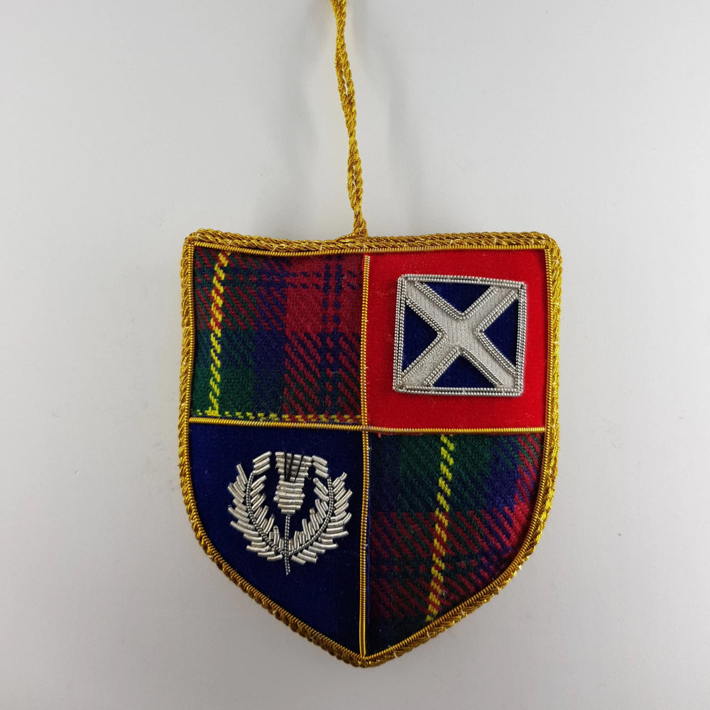 Scottish Shield Decoration