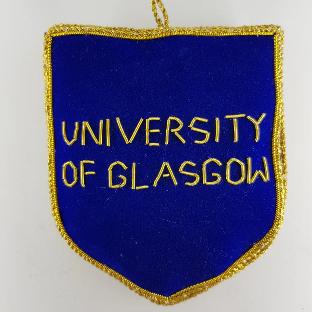 University Crest decoration - reverse
