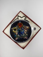 University Crest Glass Roundel (Small) - boxed