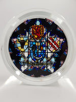 University Crest Glass Paperweight