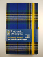 University Tartan A5 Clothbound Notebook