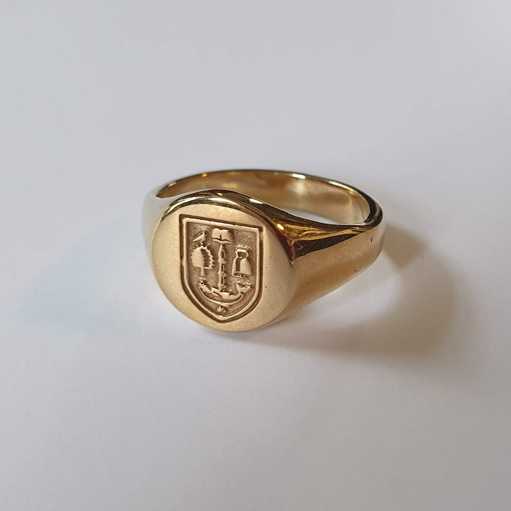 Bespoke Gold Signet Ring