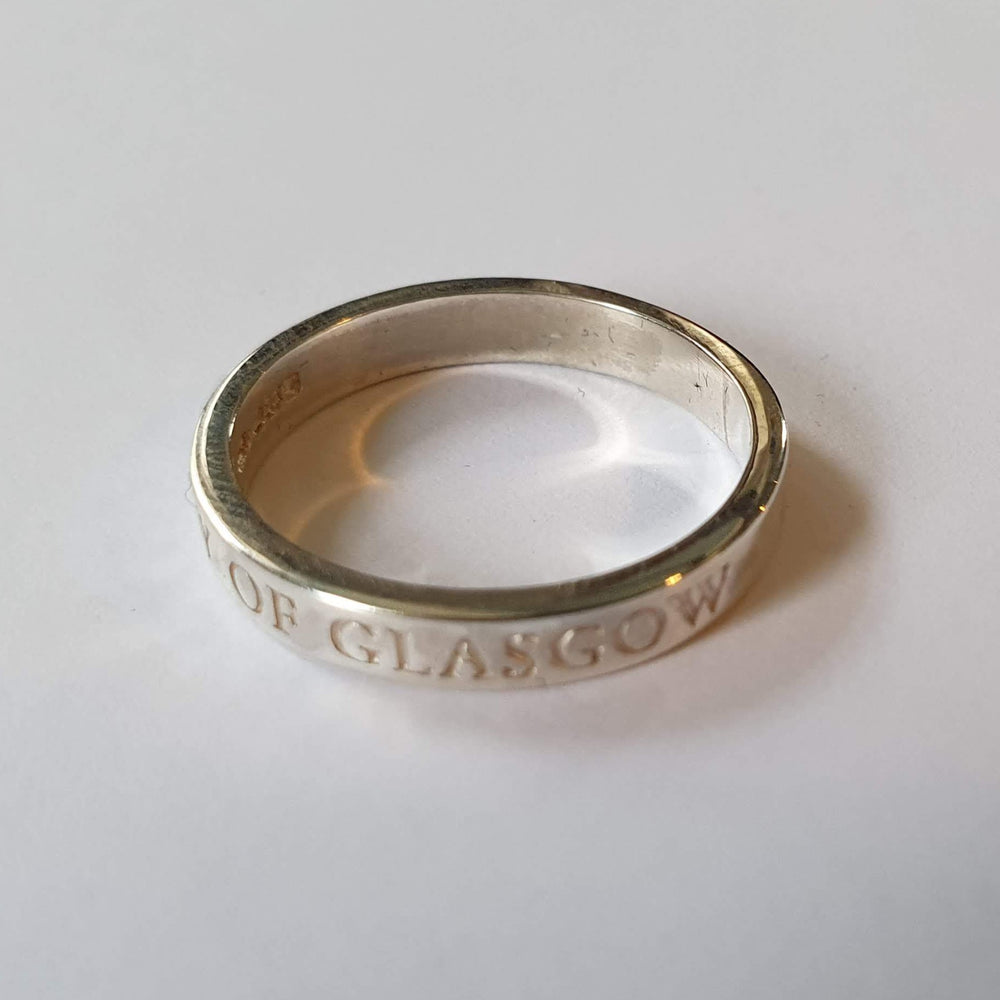 Bespoke Silver Band Ring