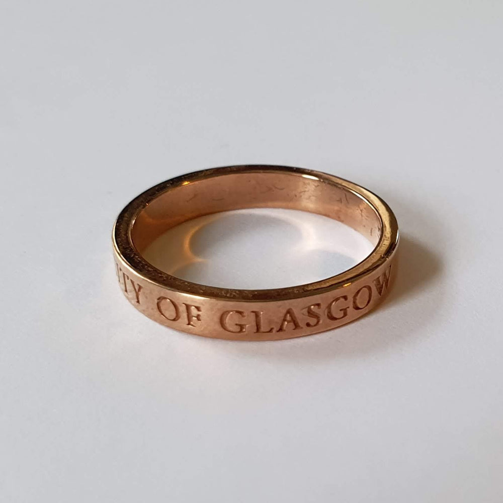 Bespoke Rose Gold Band Ring