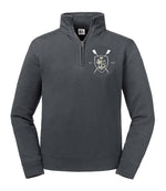 Boat Club - Grey Quarterzip