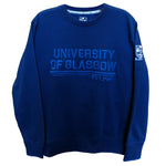 Organic Stripe Sweatshirt - Navy