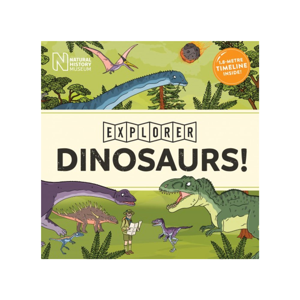 Explorer Dinosaurs book