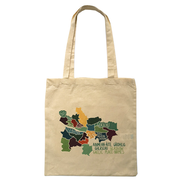 Gaelic Map Tote