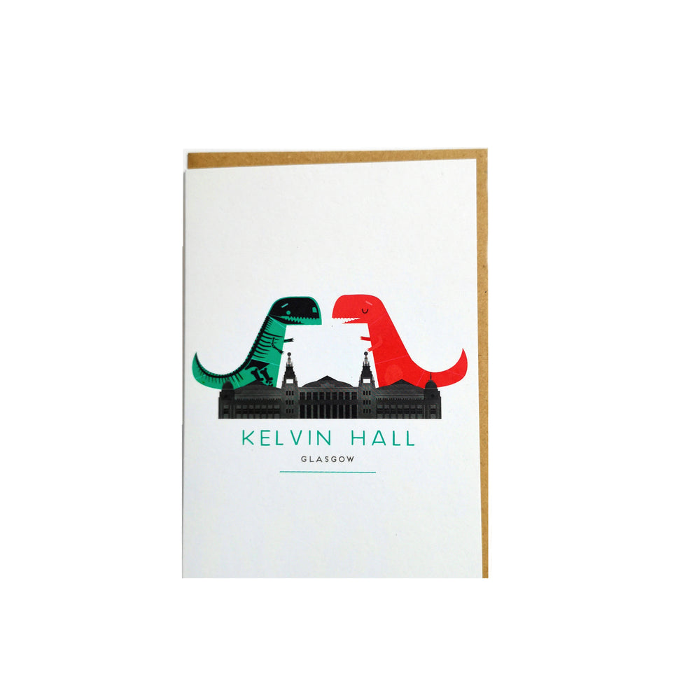 Kelvin Hall Dino Card