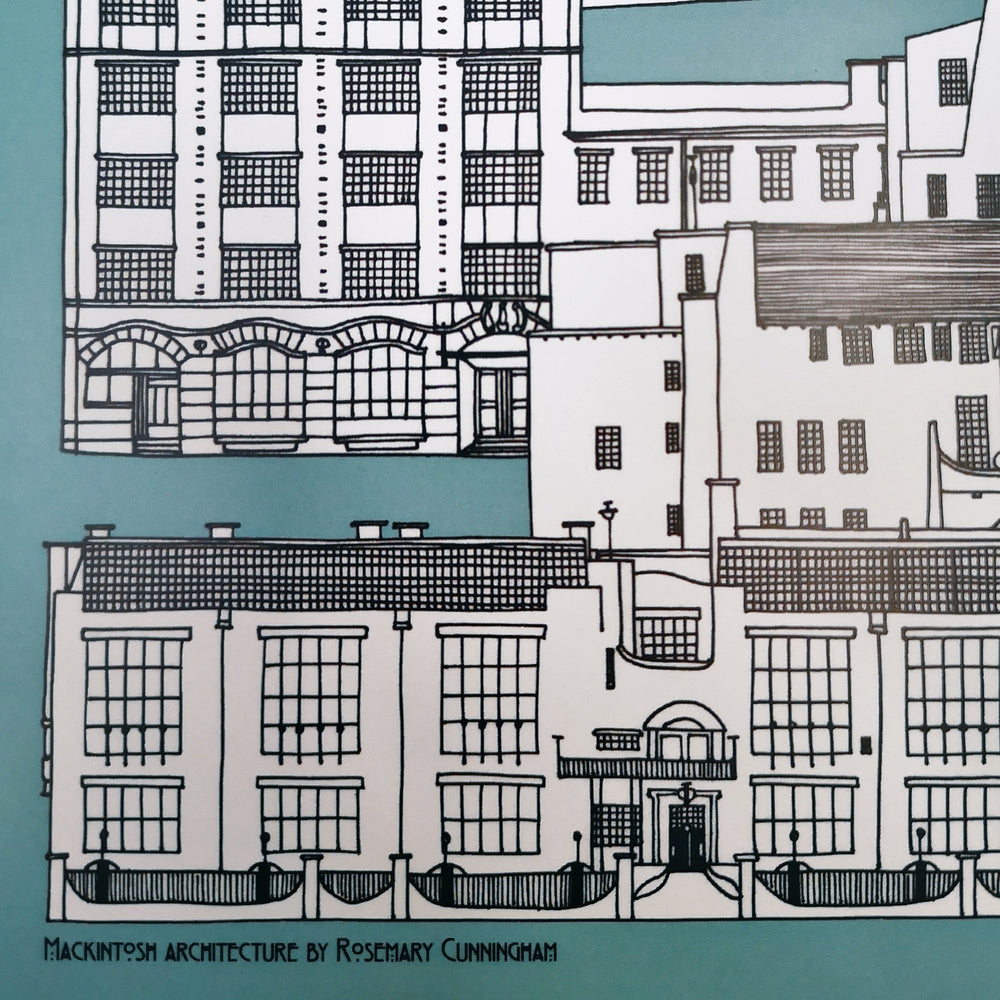 Mackintosh Print by Illustration Etc.