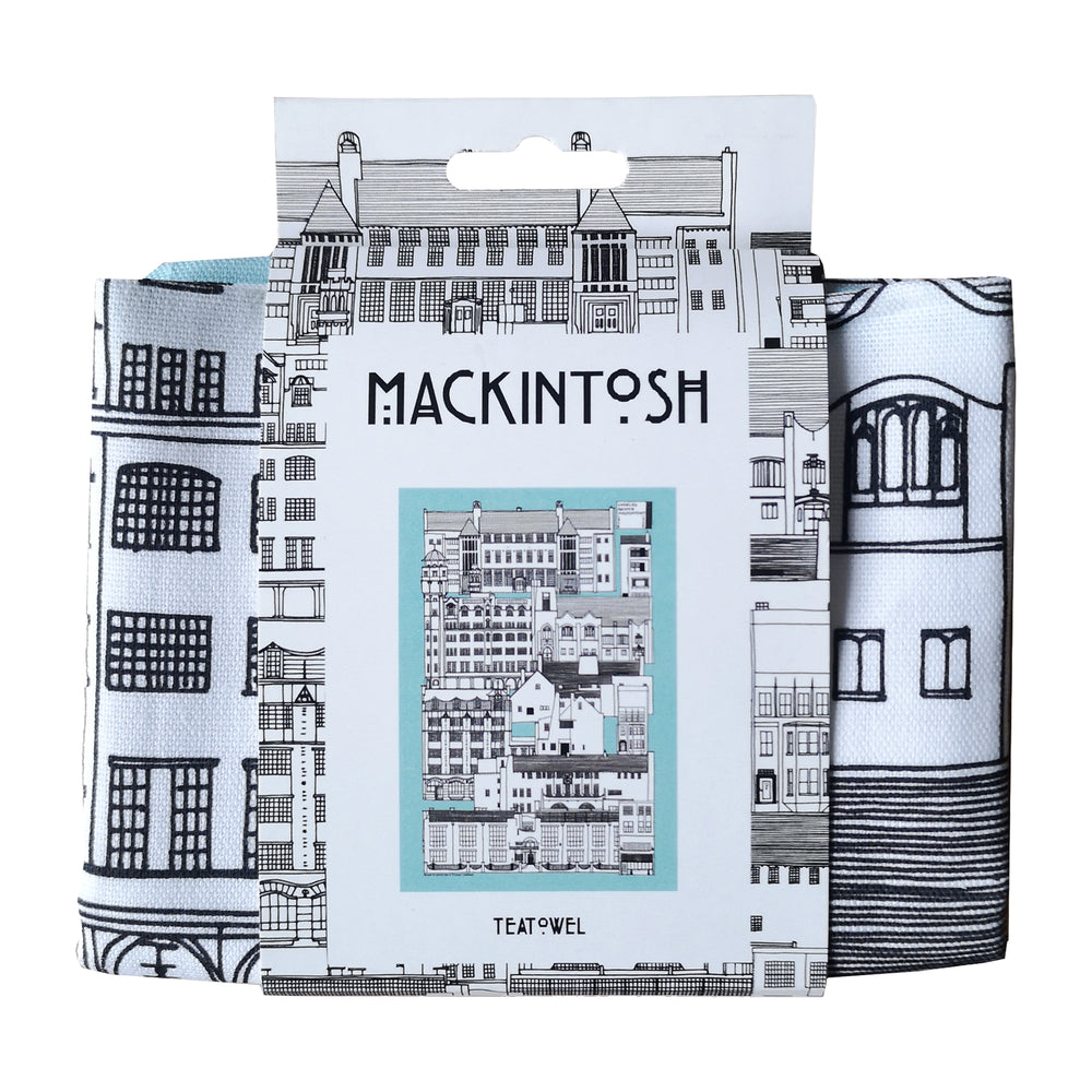 Mackintosh Teatowel by Illustration, Etc.