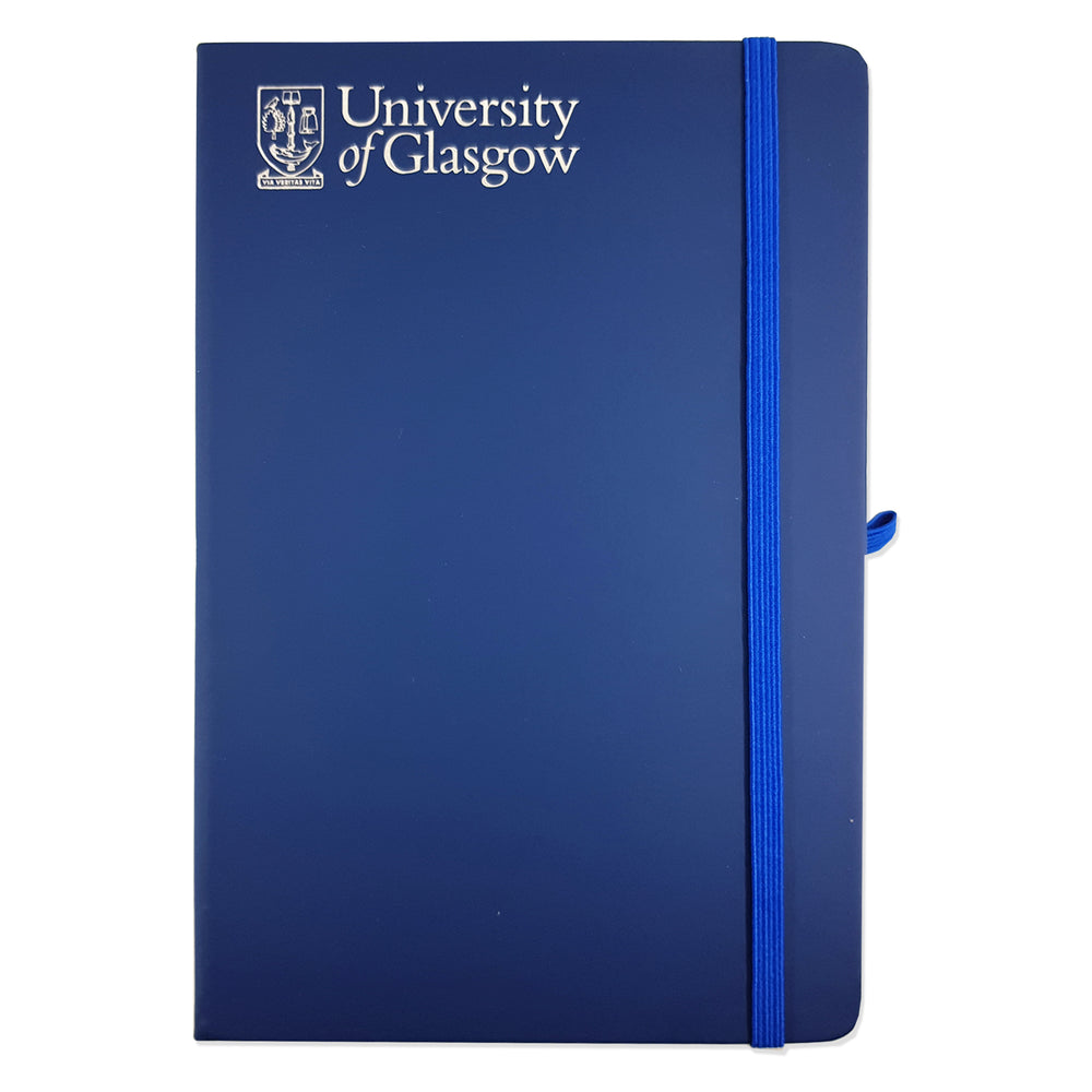University Navy A5 Notebook