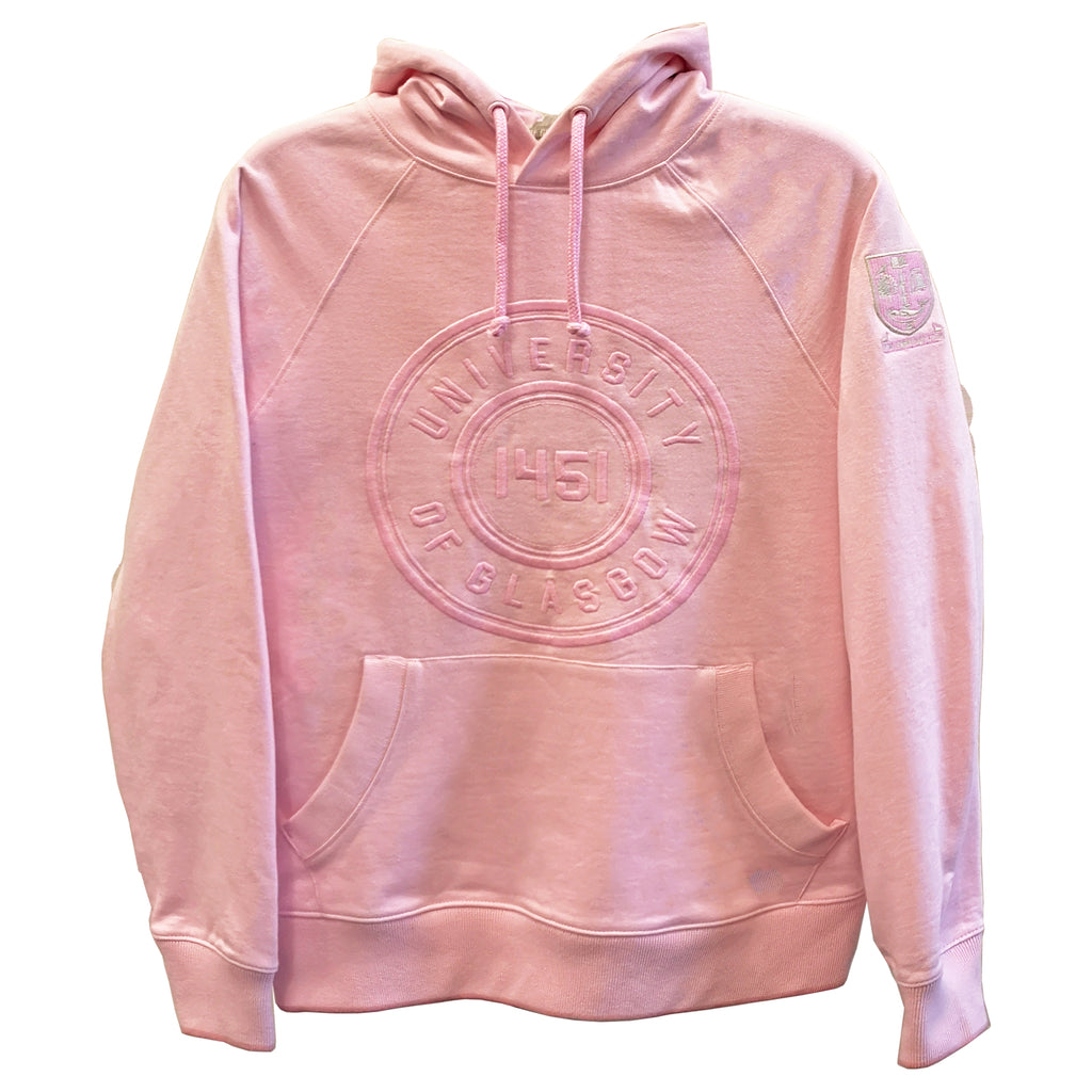 lace up in quite nice catch Organic Circle Hoodie - Pink – University of Glasgow