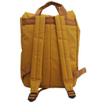 Mustard Roll Top Backpack