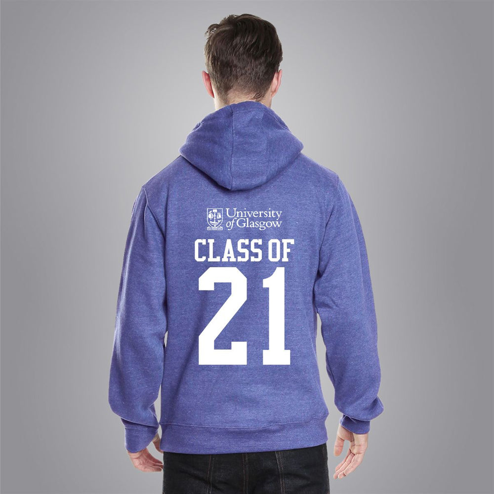 Class of 2021 Varsity Hoodie - Royal Blue