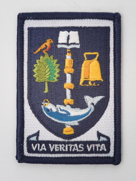 Embroidered Univerity Crest Patch