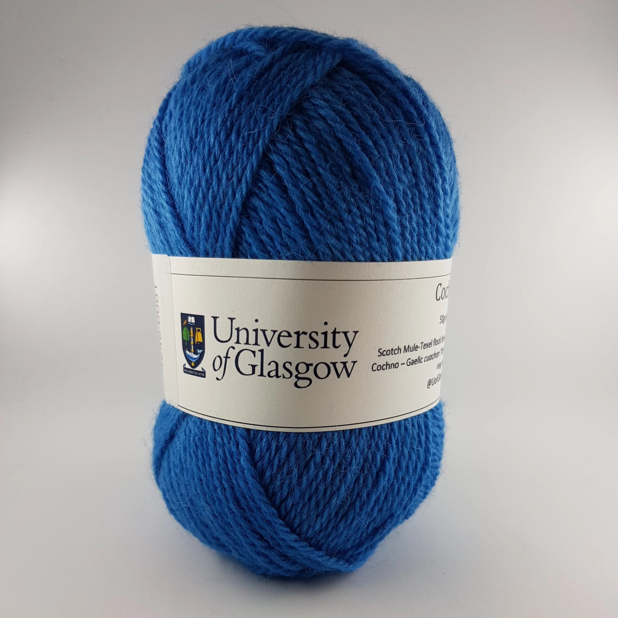 University Cochno Farm Wool - Cobalt Blue