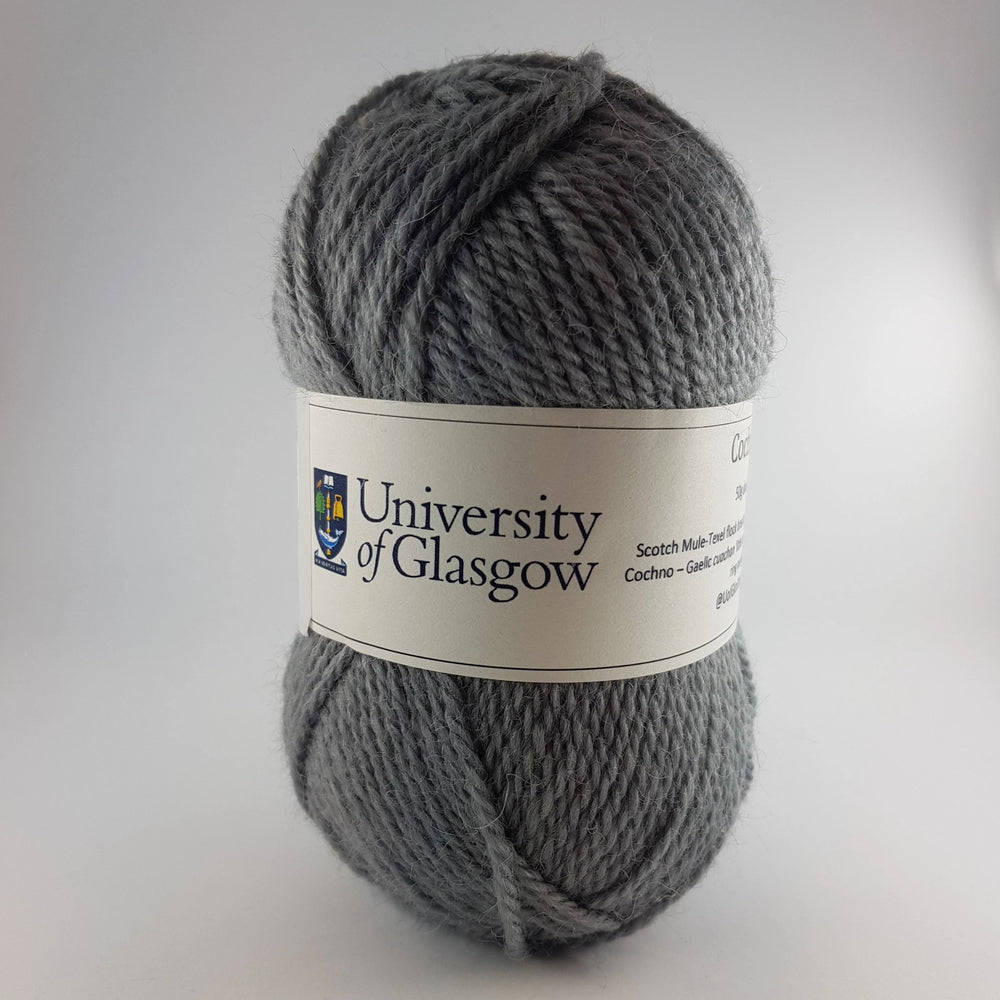 University Cochno Farm Wool - Slate Grey