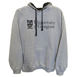 Classic Grey and Navy Hoodie