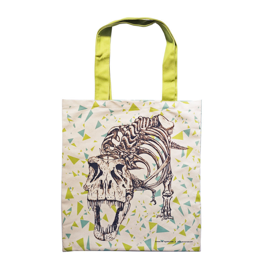 T.rex Illustrated Tote